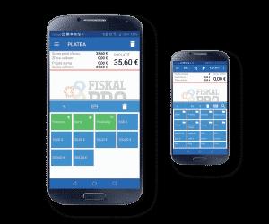 mobilní aplikace fiskalpro